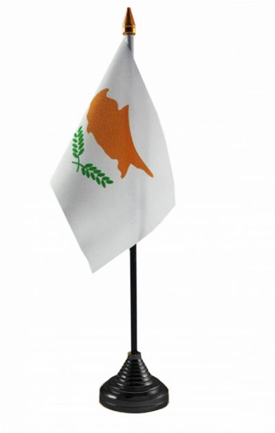 CYPRUS (SOUTH) - Table Flag